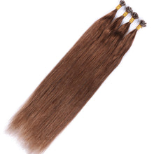 10A Brazilian Hair U Tip Hair Extensions Color #6