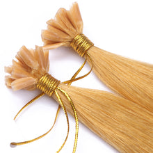 10A Brazilian Hair U Tip Hair Extensions Color #144