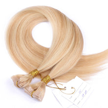 10A Malaysian Hair Tape In Hair Extensions #27/#613 highlight