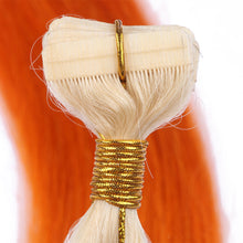 10A Malaysian Hair Tape In Hair Extensions #613/Orange Ombre