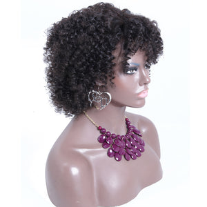 【Perruque】360 Lace Wigs Densité 180% Afro Kinky Curly 100% Cheveux Indiennes