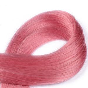 10A European Hair I Tip Hair Extensions Color #Pink