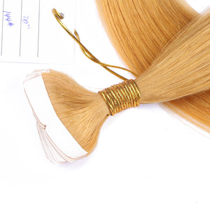 10A Brazilian Hair Tape In Hair Extensions Color #144