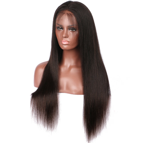 【Perruque】13*6 Front Lace Wig Ultra Lisse 100% Cheveux Humains Péruviens