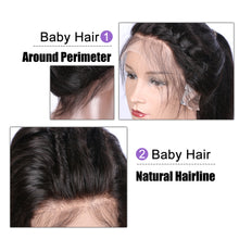 【Perruque】Silk Top Lace Front Wigs Ondulé (Body Wave) 100% Cheveux Naturels