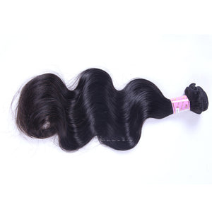 10A Peruvian Virgin Hair Weave Natural Color Body Wave