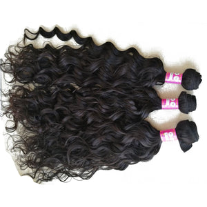 10A Tissage Ondulé(Natural Wave)Noir Naturel 100% Cheveux Vierges Indiens