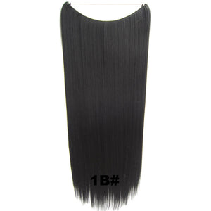 10A Human Hair Flip In Hair Extensions Silky Straight