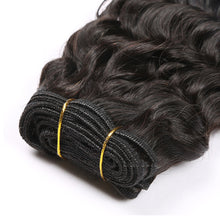 10A Tissage Ondulé(Deep Wave)Noir Naturel 100% Cheveux Vierges Indiens