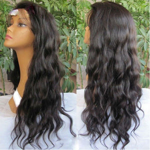 【Perruque】Silk Top Lace Front Wigs Ondulé(loose wave)100% Cheveux Brésiliens