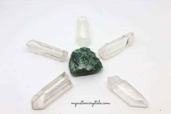 Money Attracting Crystal Set