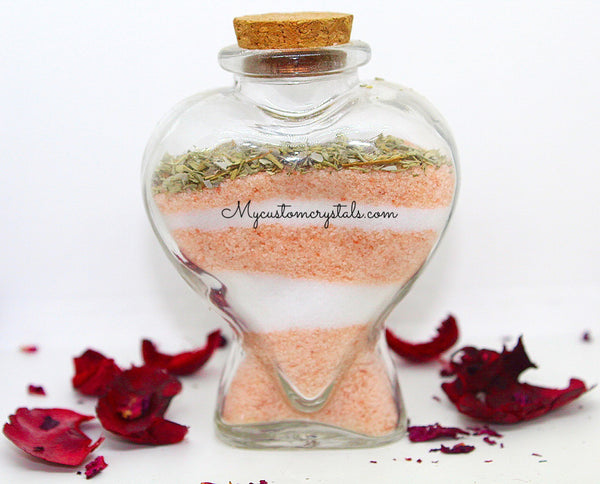 Pink and white Charging Salts