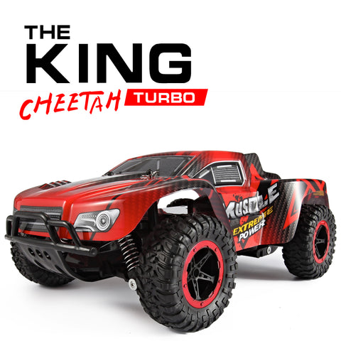 1:16 Car 4CH Hummer RC Off-Road Vehicles 2.4G High Speed SUV RC Car Damping Toy Car Motors