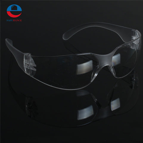 1 PCS Safety Glasses Lab Eye Protection Protective Eyewear Clear Lens Workplace Safety