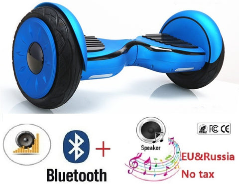 "10"" Adult Electric scooter hoverboard skateboard Self balancing scooter Overboard hover"