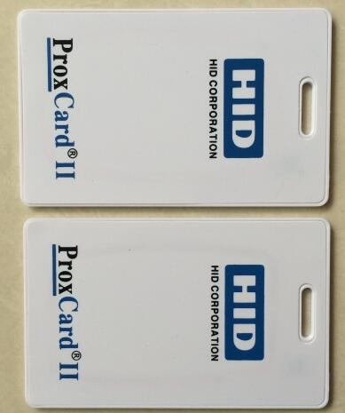 125khz H-ID PROX II Clamshell Card, access card, Rewritable RFID Proximity H-ID Thick Card