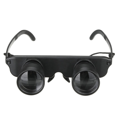 1PCS Top Quality Binoculars Fishing Telescope High Clarity 3x28 Magnifier Glasses Style