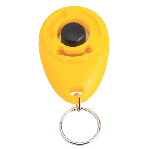 1Pc Pet Trainer Pet Dog Training Adjustable Sound Key chain Dog clicker EJ877522 .