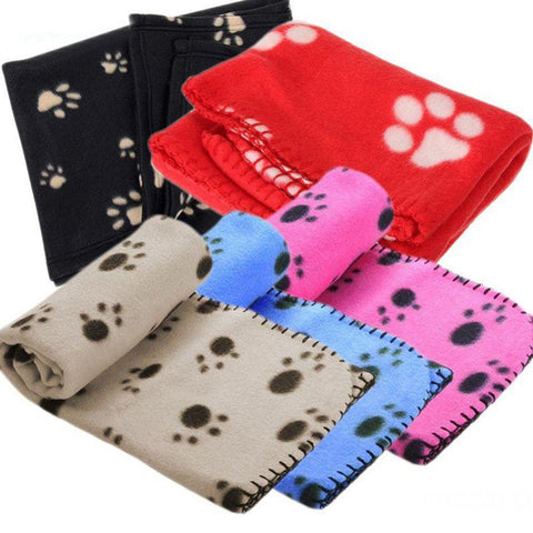 1Pc Warm Pet Dog Blanket Puppy Sleep Dogs Mat Small Large Size Dog Blanket Towel Winter