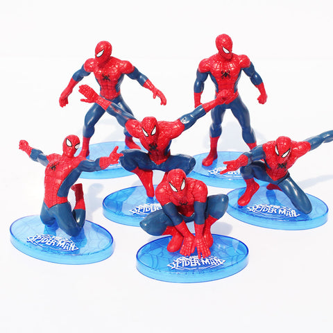 1Pcs New arrival Cool Spider-Man Figure The Avengers Spiderman Spider Man PVC Action