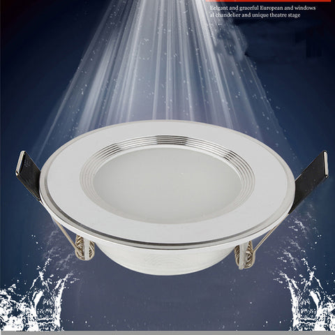 1pcs Dimmable Waterproof LED Downlight 220V 7W/9W/12W/15W/18W LED Bulb Light Recessed