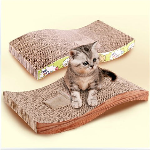 1pcs Pet Cat Training Practical Toy For Funny S Type Pet Cat Kitten Scratch Scratcher