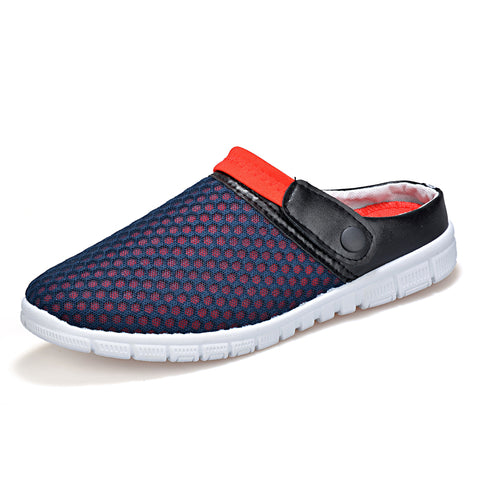 New Fashion Air Mesh Men Casual Shoes 3 Colors Super Breathable Slip On Lazy Men Shoes