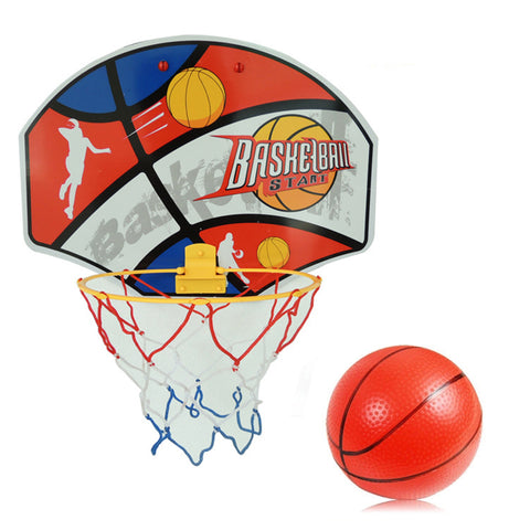 New High Quality Kids Foldable and Hanging Shot Basketball Basquete Ball Backboard Pump