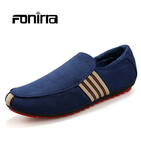 Summer Fashion Korean Male Casual Loafers Slip On Breathable Casual Men Shoes Solid