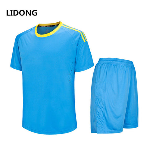 Men Soccer Jerseys Set Youth Kids Survetement Football Kits Boys Child Futbol