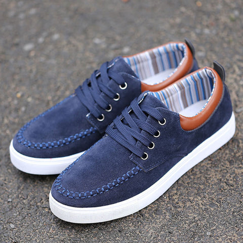 Mens casual shoes Man flats Breathable Mens fashion canvas Shoes .