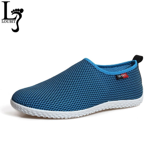 New Arrival Men Casual Shoes Men's Fashion Breathable Mesh Shoes Loafer Comfortable