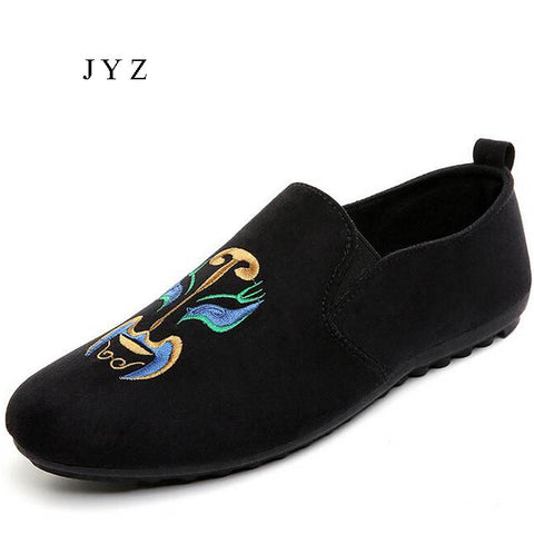New Fashion Mens Flats Casual Loafers Slip On Driving Shoes Moccasin Shoe Man