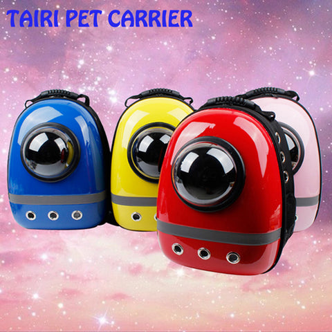 New Hot Good Quality Space Capsule Plastic Oxford Carriage Backpack For Cat Dog