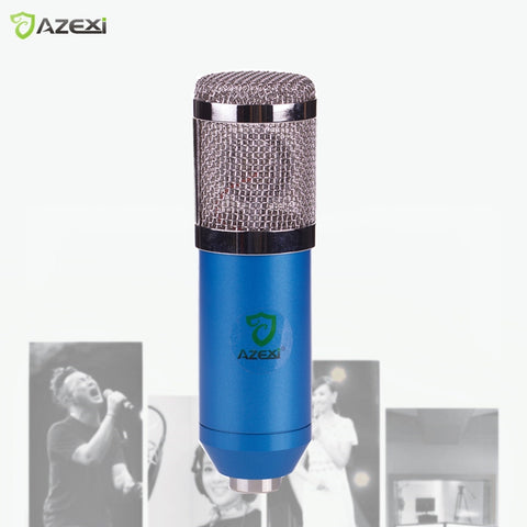 SALE Karaoke Mic BM-800 BM800 Dynamic Condenser Wired Microphone Sound Studio for