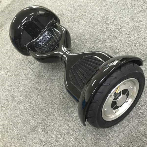 "smart Balance wheel HoverBoard- bluetooth and remote 10"" BLACK ."