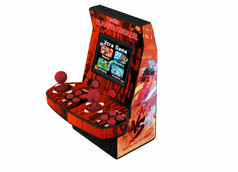 22 inch LCD coin-operated Mini Arcade Machine With Classical Game 645 In 1 PCB/With long