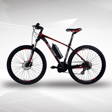26 / 27.5INCH electric mountain bicycle mid motor electric bi 36V lithium battery MTB bike