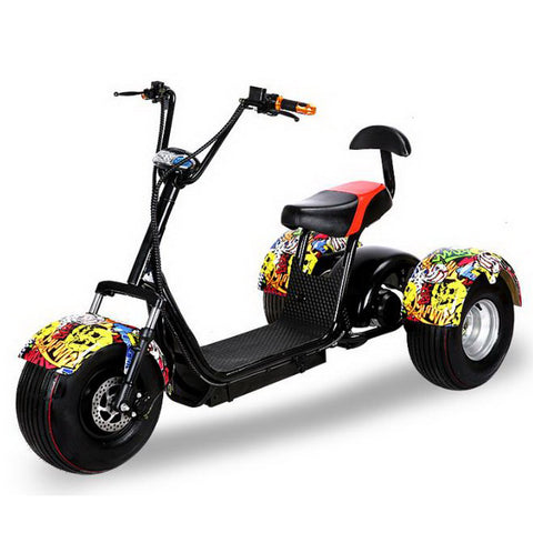 320626/New wide tires Harley electric car / three wheel scooter / three rounds of electric