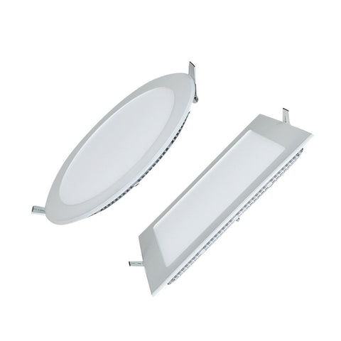 3W/6W/9W/12W/15W/18W LED ceiling led downlight square/round panel light bulb AC110V 220V
