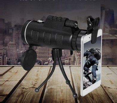 40*60/35*50 HD Zoom Monocular Telescope Adjustable Astronomical Telescope for Phone for