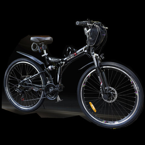 48V folding electric bicycle Mountain E-bike .