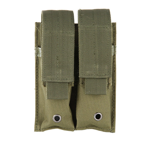 9MM 600D Molle Nylon Tactical Dual Double Pistol Mag Magazine Pouch Close Holster For