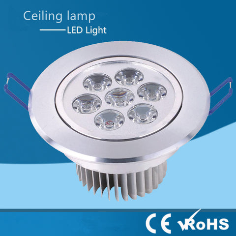 9w 12w 15w 21w Recessed downlight led ceiling lamp Dimmable 220v 110v Warm /Natur/Cold