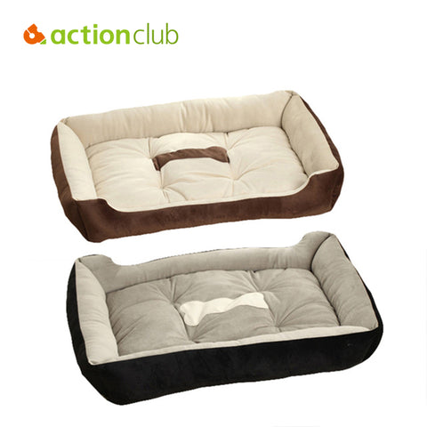Actionclub 6 Sizes House Pets Beds Plus Size Dogs Fashion Soft Dog House High Quality PP