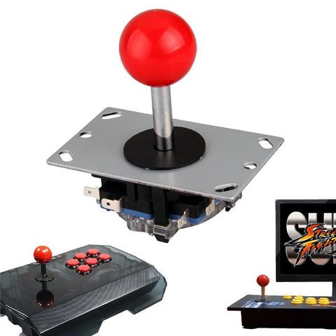 Arcade joystick DIY Joystick Red Ball 4/8 Way Joystick Fighting Stick Parts for Game