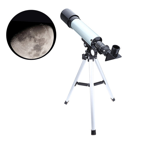 Astronomical Monocular Celestron Telescope With Tripod 2 Eyepiece Optical Refractor Zoom