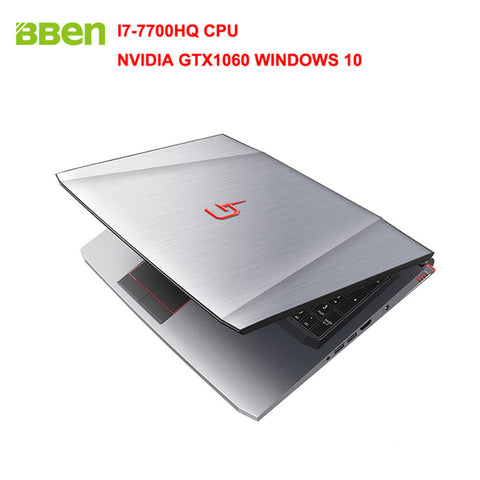 "BBEN G16 15.6"" Windows 10 Intel I7-7700HQ CPU NVIDIA GTX1060 GDDR5 6GRam FHD1920*1080"