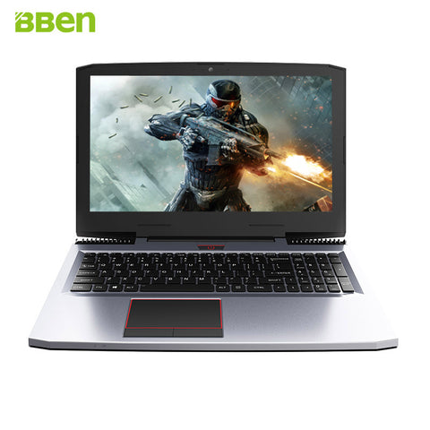 BBEN G16 Gaming Laptops computers GTX1060 i7 7700HQ DDR4 8G/16G/32G RAM . wifi FHD IPS