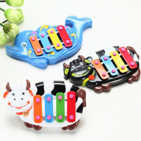 Baby Kids Knock Musical Developmental Toy Electrical Keyboard Piano Sound Toy Musical